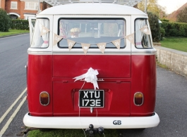 VW Campervan wedding hire in Reading